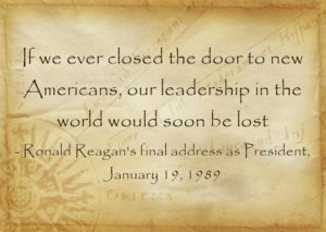 Ronald Reagan quote graphic