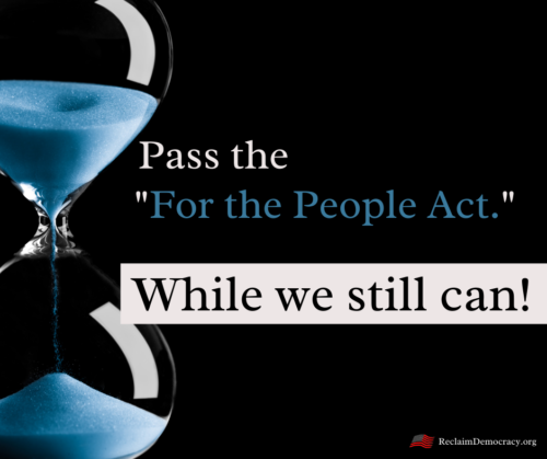 Pass For the People Act., HR1
