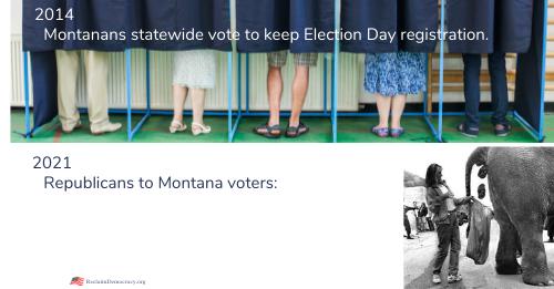 Montana GOP Snubs Voters